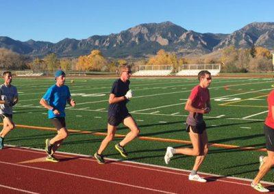 Boulder Pros Run Workout